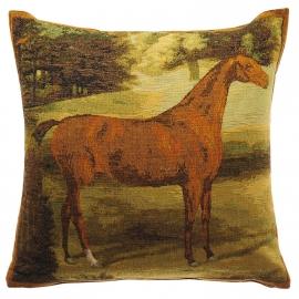 Бурый конь