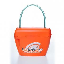 Сумка-сейф оранжевая