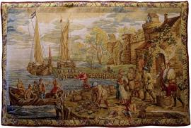 Прибытие в Порт