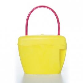 Сумка-сейф жёлтая