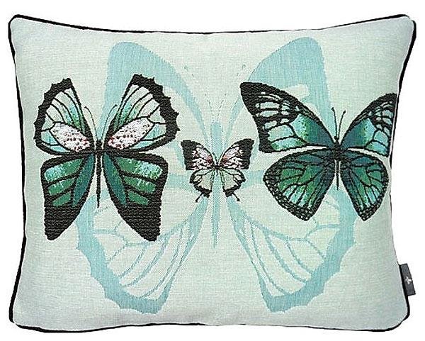 Наволочка голубые бабочки