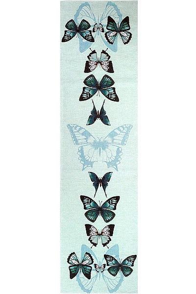 Дорожка голубые бабочки