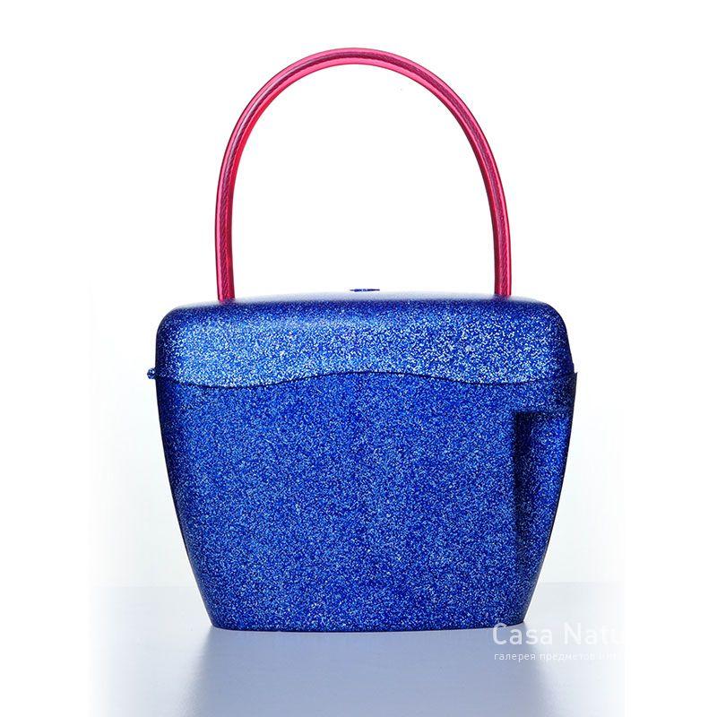 Сумка-сейф синяя