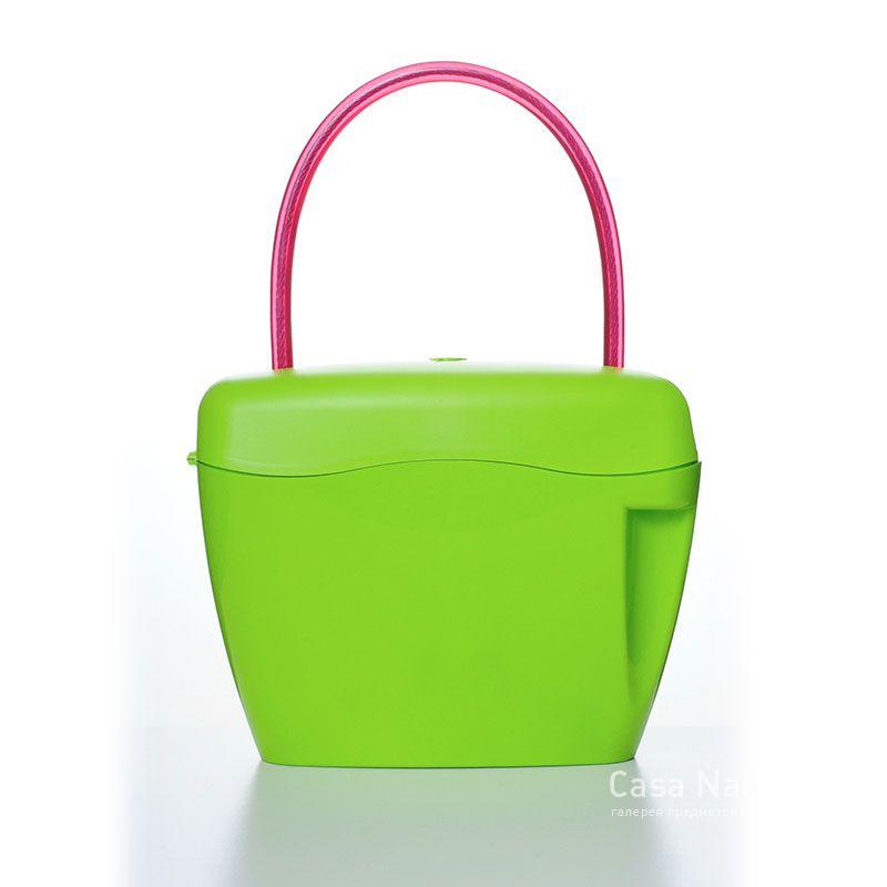 Сумка-сейф зелёная